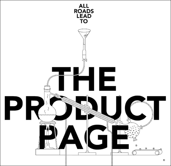 All roads leads to the product page