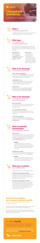 infographic: Changebak insurance - understanting your options