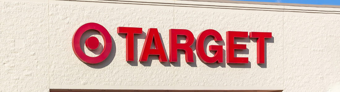 The front of a Target Store