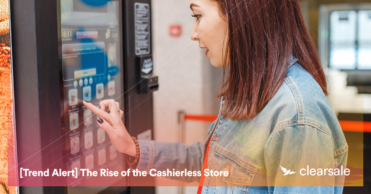 [Trend Alert] The Rise of the Cashierless Store