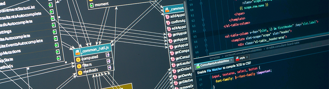 many codes on one screen