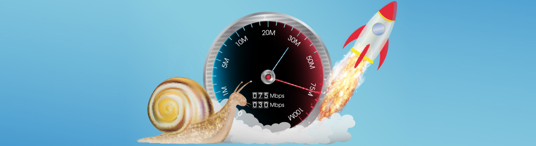 A slug, a speedometer and a rocket taking off