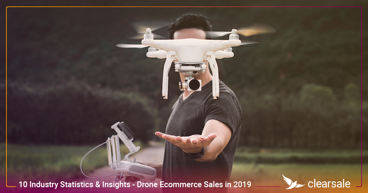 10 Drone Industry Statistics & Insights That Could Impact Drone Ecommerce Sales in 2019