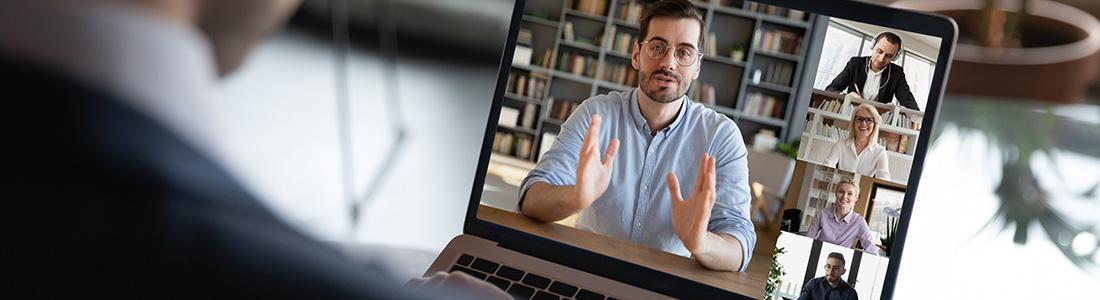virtual meeting event