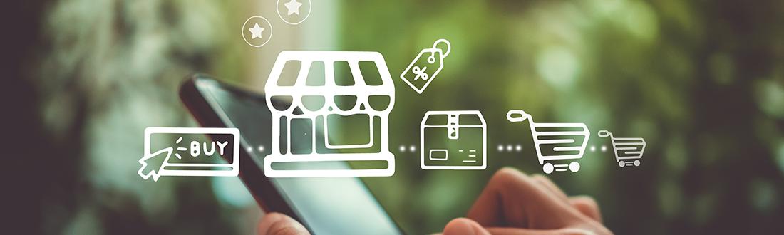 image showing the versatilitie of buying online and ofline