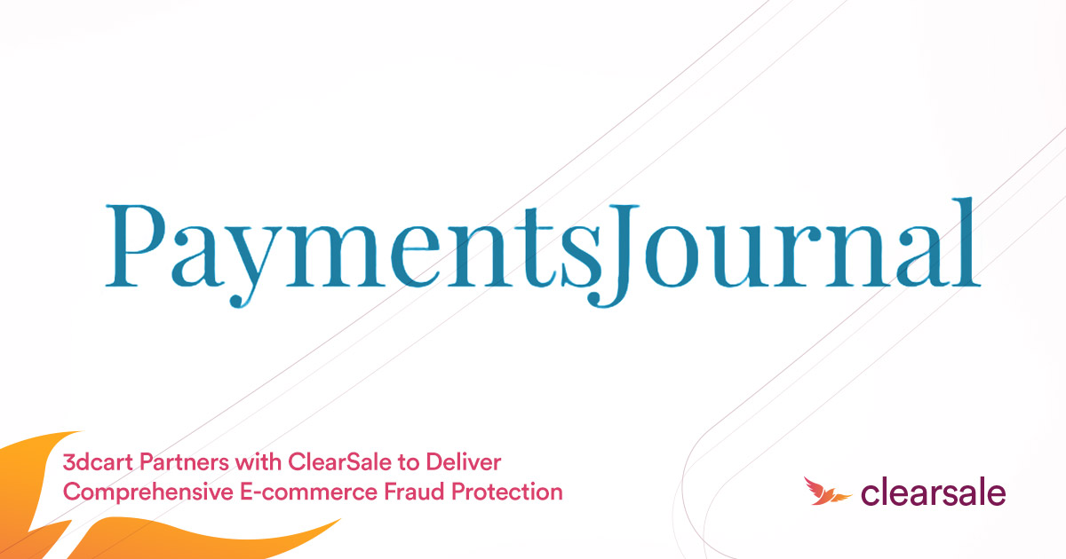 3dcart Partners with ClearSale to Deliver Comprehensive E-commerce Fraud Protection