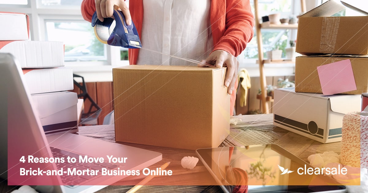 4 Reasons to Move Your Brick-and-Mortar Business Online