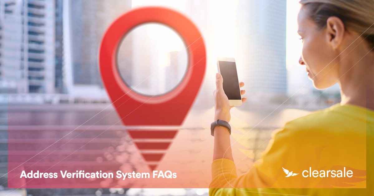 Address Verification System FAQs
