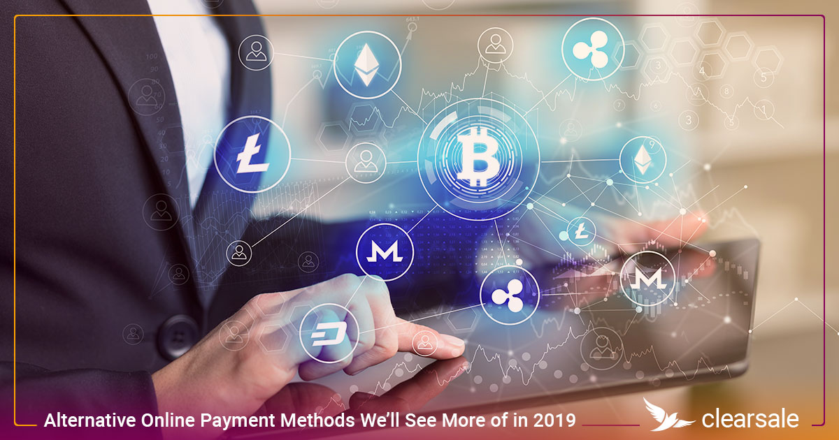 Alternative Online Payment Methods We'll See More of in 2019