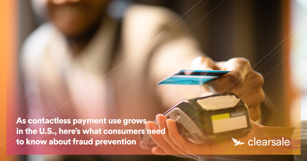 As contactless payment use grows in the U.S., here's what consumers need to know about fraud prevention