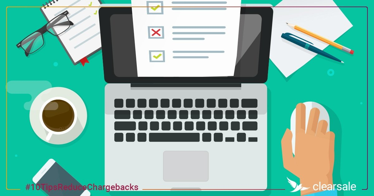 10 Things Online Retailers Can Do Today to Reduce Chargebacks