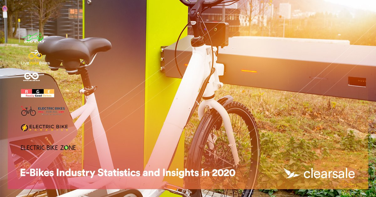 E-Bikes Industry Statistics and Insights in 2020