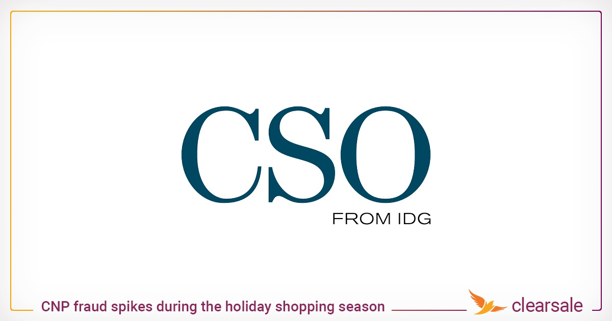 CNP fraud spikes during the holiday shopping season