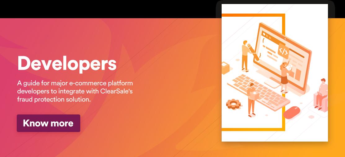 Developers guide for major ecommerce platforms