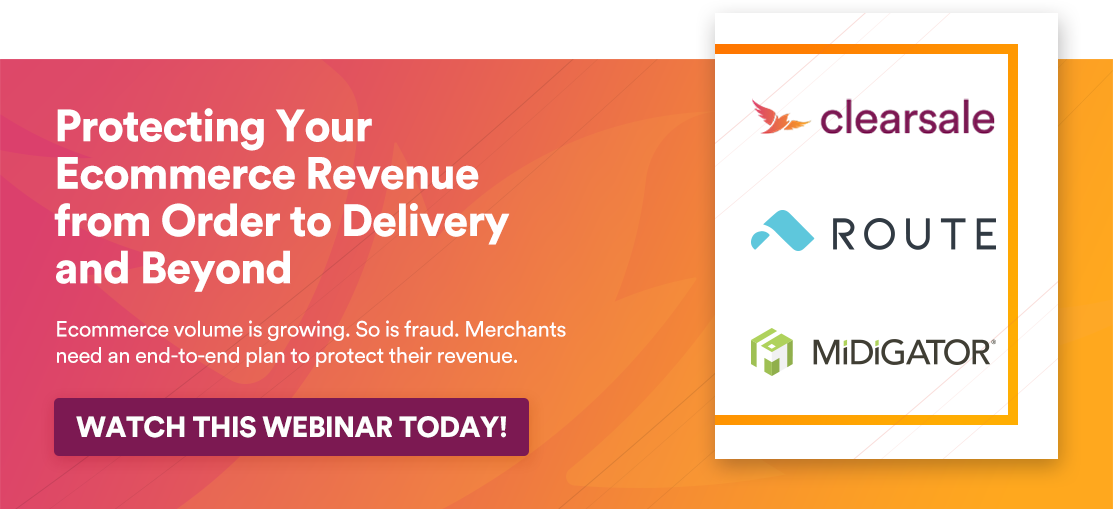 Webinar: Protecting your ecommerce revenue