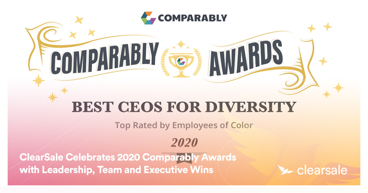 ClearSale Celebrates 2020 Comparably Awards with Leadership, Team and Executive Wins