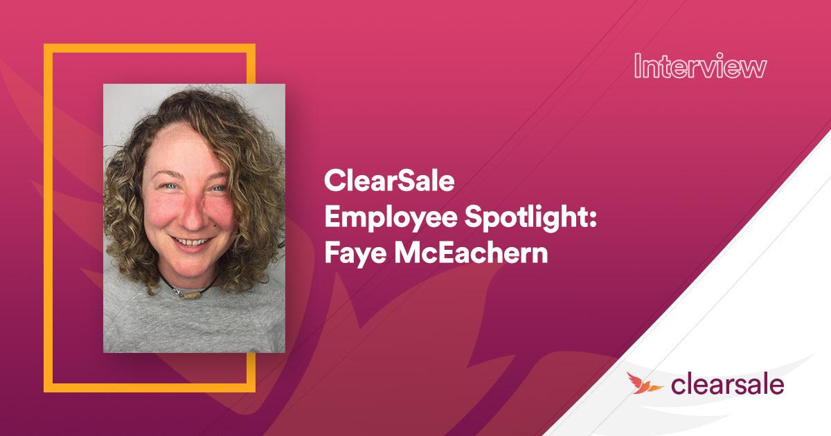 Employee Spotlight: Faye McEachern