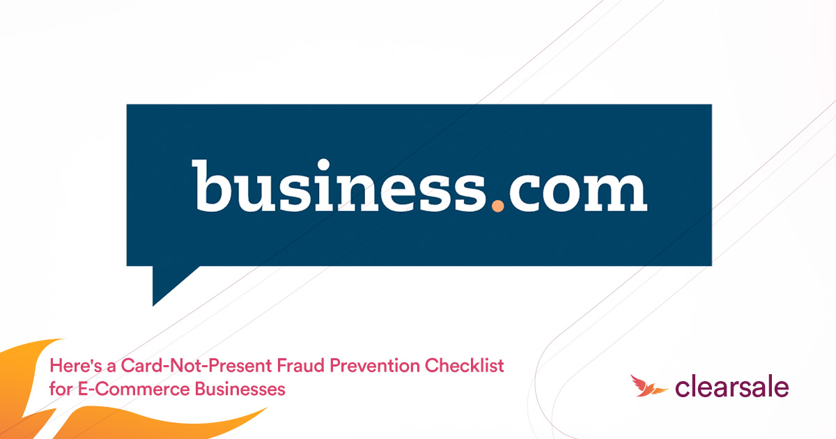 Card-Not-Present Fraud Prevention Checklist for E-Commerce Businesses