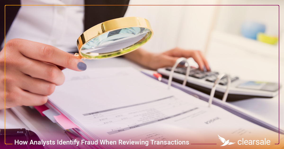 How Analysts Identify Fraud When Reviewing Transactions