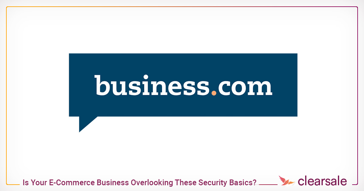 Is Your E-Commerce Business Overlooking These Security Basics?