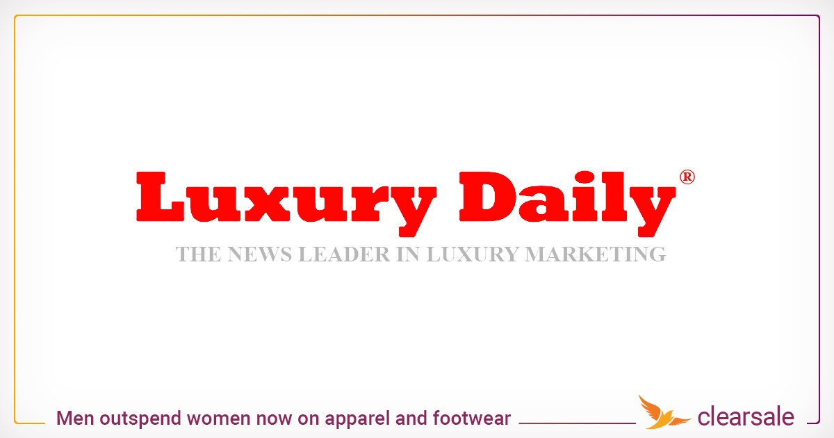 Men outspend women now on apparel and footwear