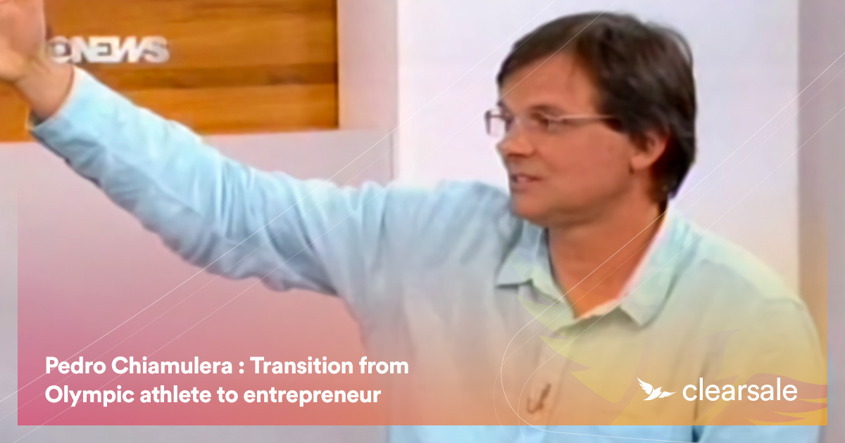 Pedro Chiamulera : Transition from Olympic athlete to entrepreneur
