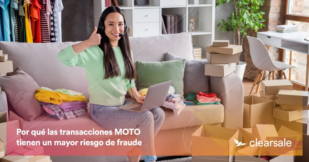 Por qué las transacciones MOTO tienen un mayor riesgo de fraude