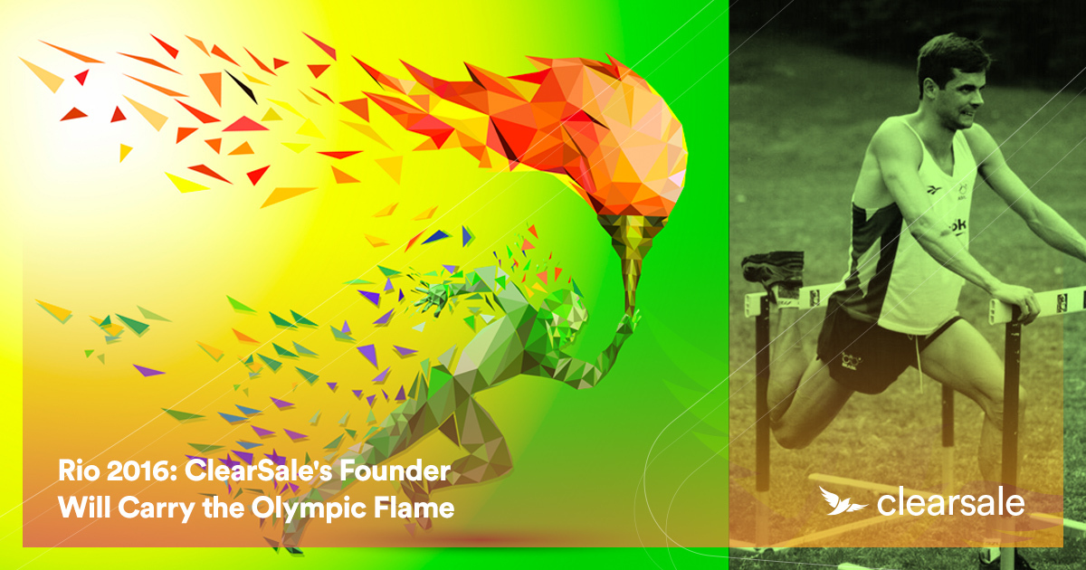 Rio 2016: ClearSale's Founder Will Carry the Olympic Flame