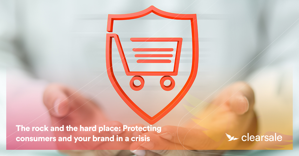 The rock and the hard place: Protecting consumers and your brand in a crisis