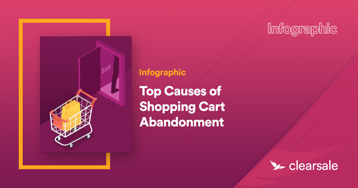 [Infographic] Top Causes of Shopping Cart Abandonment