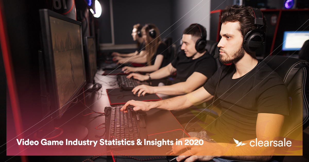 Video Game Industry Statistics & Insights in 2020