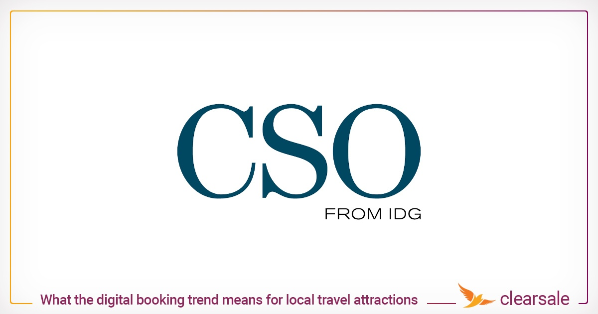 Digital booking trend for travel attractions and fraud prevention