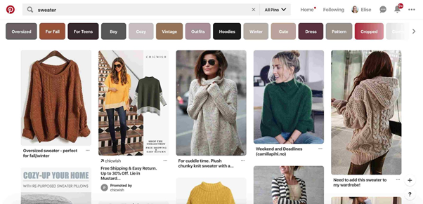 sweters pictures on pinterest website