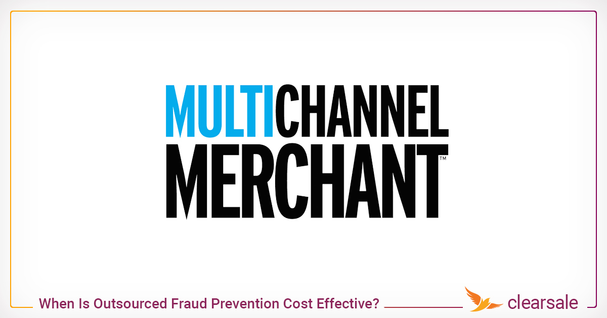 When Is Outsourced Fraud Prevention Cost Effective?